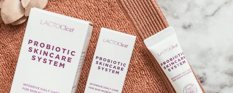 Lactoclear hudplejeserie mod uren hud