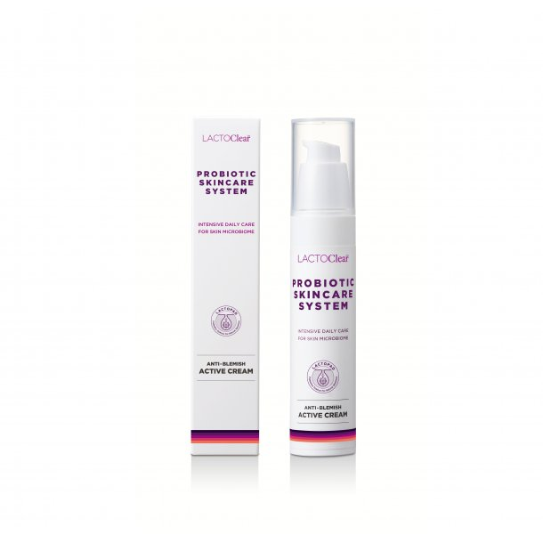 NY FORMULERING: ANTI-BLEMISH ACTIVE CREAM